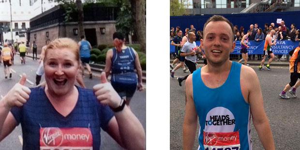 London Marathon 2017 runners for Bromley & Lewisham Mind