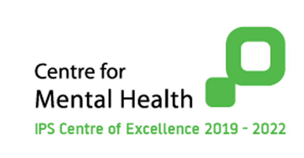 Logo del Center for Mental Health IPS Center of Excellence 2019-2020