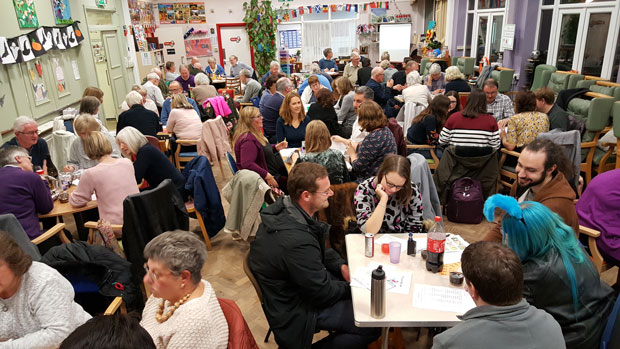 People at the BLG Mind fundraising quiz night