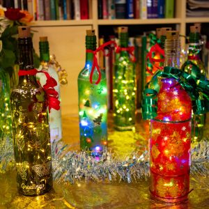 Christmas Lanterns made by MindCare Dementia Support clients