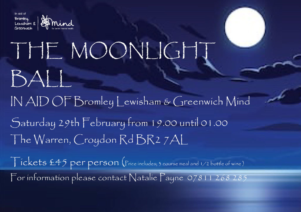 Moonlight Ball 2020 flyer