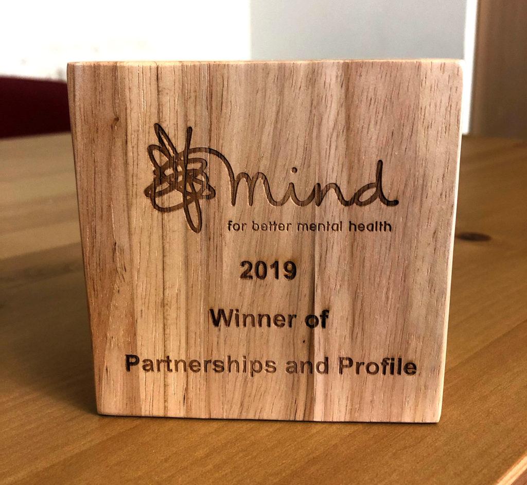 Mind Partnerships and Profile Award 2019 for BLG Mind