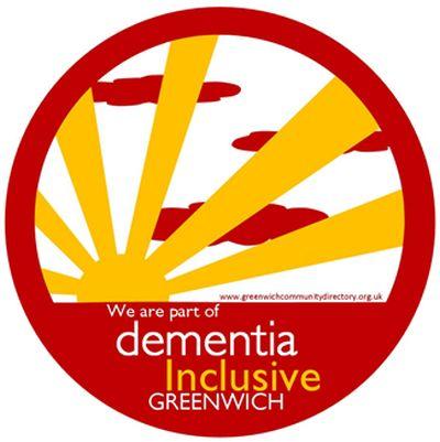 Logotipo inclusivo de demência
