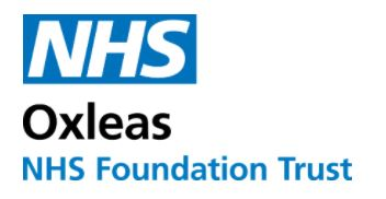 Oxleas Foundation NHS Trust logo