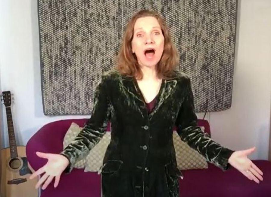 Opera singer Jacqueline who sang for a BLG Mind dementia client