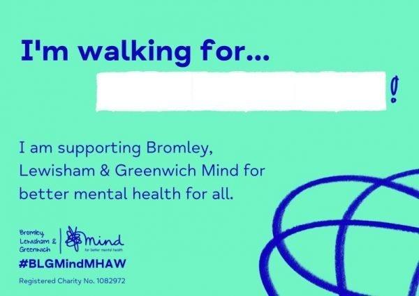 Mental Health Awareness Week T-shirt sign