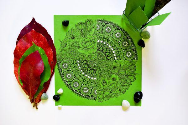 Zentangle Nature Doodle